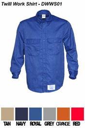Fire Resistant Work Shirt